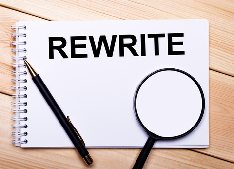 Is rewriting really necessary?